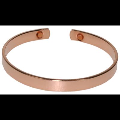 Bracelet Cuivre et Aimant - Largeur 0,6 cm