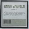 68691-2-Pendule Sephoroton en Hématite