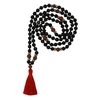 68998.2-Mala en Serpentine et Rudraksha 108 perles