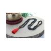 68998-Mala en Serpentine et Rudraksha 108 perles