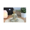 70431.3.Statuette Bouddha Shunya Mudra en Résine Dorée