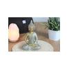 70429.Statuette Bouddha Dhyana Mudra en Résine Dorée
