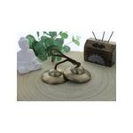 68962.1.Cymbale Tibétaine en Bronze