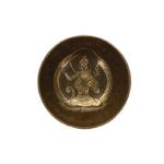 70463.1.Coffret Bol chantant Traditionnel Gravure Tara Diamètre env. 12 cm