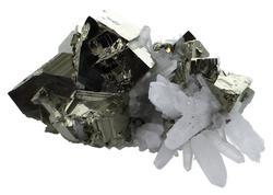 64447-amas-pyrite-et-cristaux