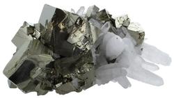 64446-amas-pyrite-et-cristaux