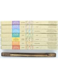 69625.Coffret Encens Bâton Chakra Luck 7 Fragrances