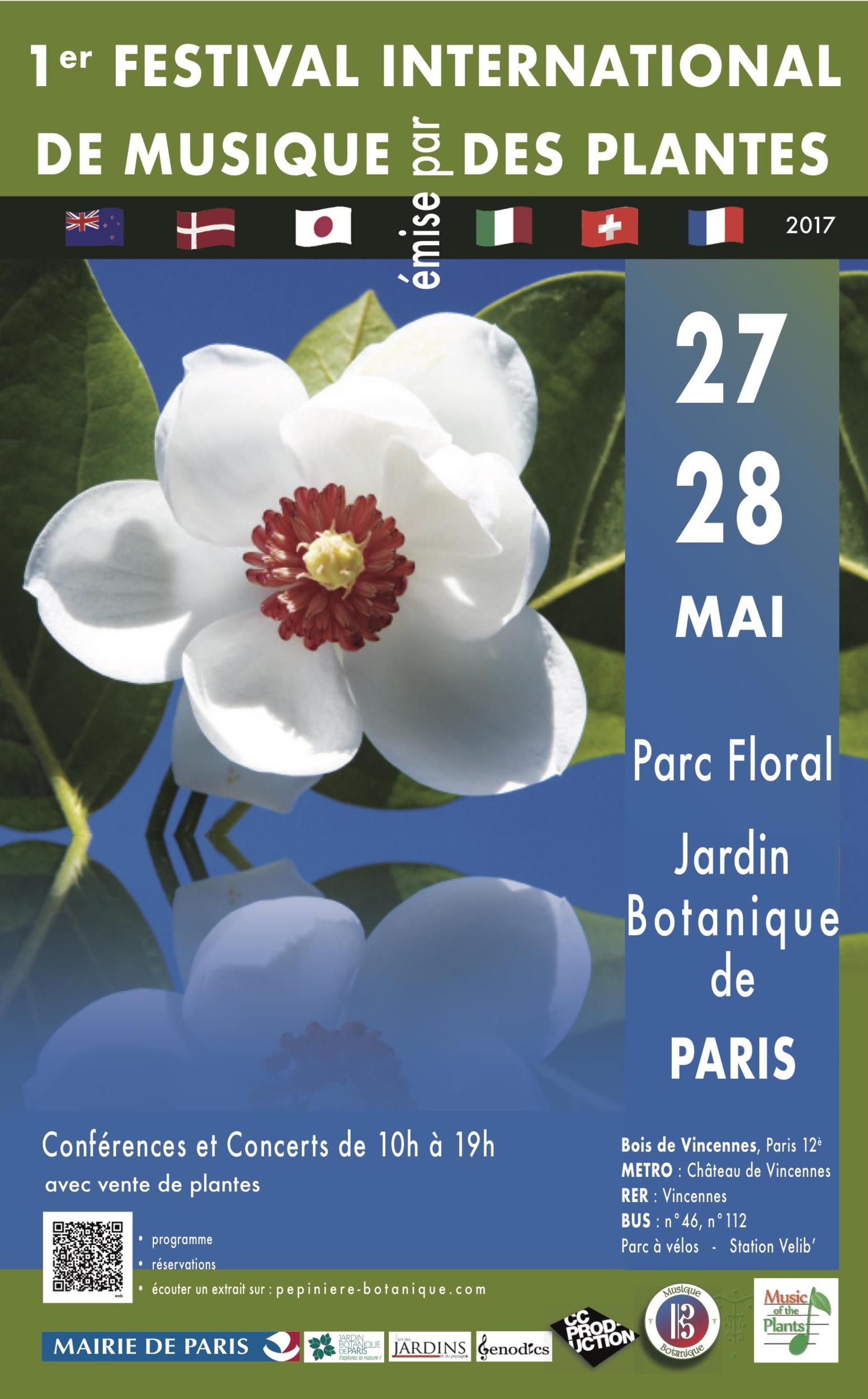 Musique Des Plantes Festival International De Paris