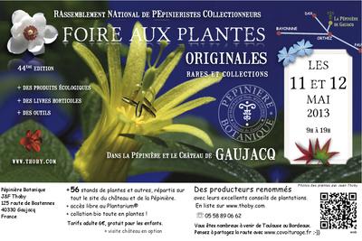RANAPECO mai 2013 Gaujacq-Affiche