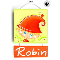 Plaque de porte Lutin