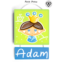 Plaque de porte Petit Prince