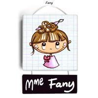 Plaque de porte de classe FANY