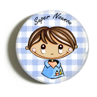 "Badge ""atsem/nounou"" Ludovic"