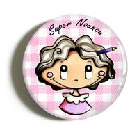 "Badge ""atsem/nounou"" Marie"