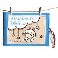 """Album de baptême illustré """"Angelot"""""""