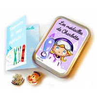 Boîte à médailles (ski, snow) CHARLOTTE