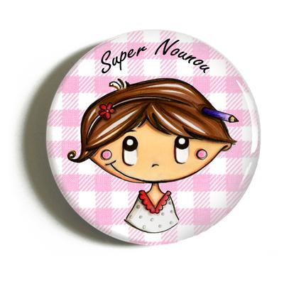 "Badge ""atsem/nounou"" Sophie"