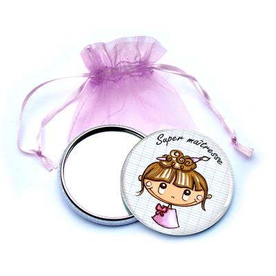 "Miroir ""cadeau maîtresse"" Fany"