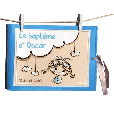 """Album de baptême illustré """"Pilote"""""""