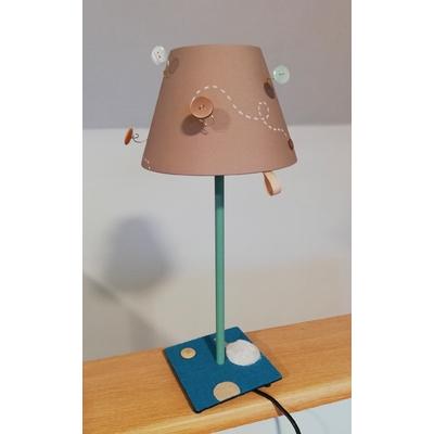 """Lampe de chevet """"boutons"""""""