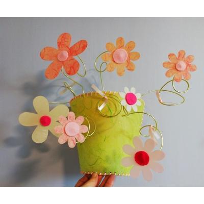 Applique murale flowers