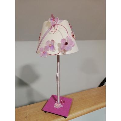 Lampe de chevet fleurette