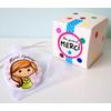 Magnet + boîte cadeau (Nounous, Atsem, Animateurs, Papas) Nombreux personnages au choix