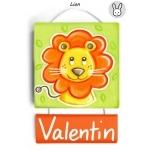Plaque de porte Lion