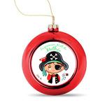 boule noel personnalisee pirate