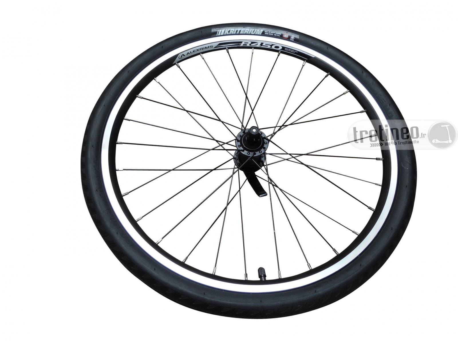 kickbike roue compl te kriterium 20 pouces pour race max 2011 trotineo. Black Bedroom Furniture Sets. Home Design Ideas