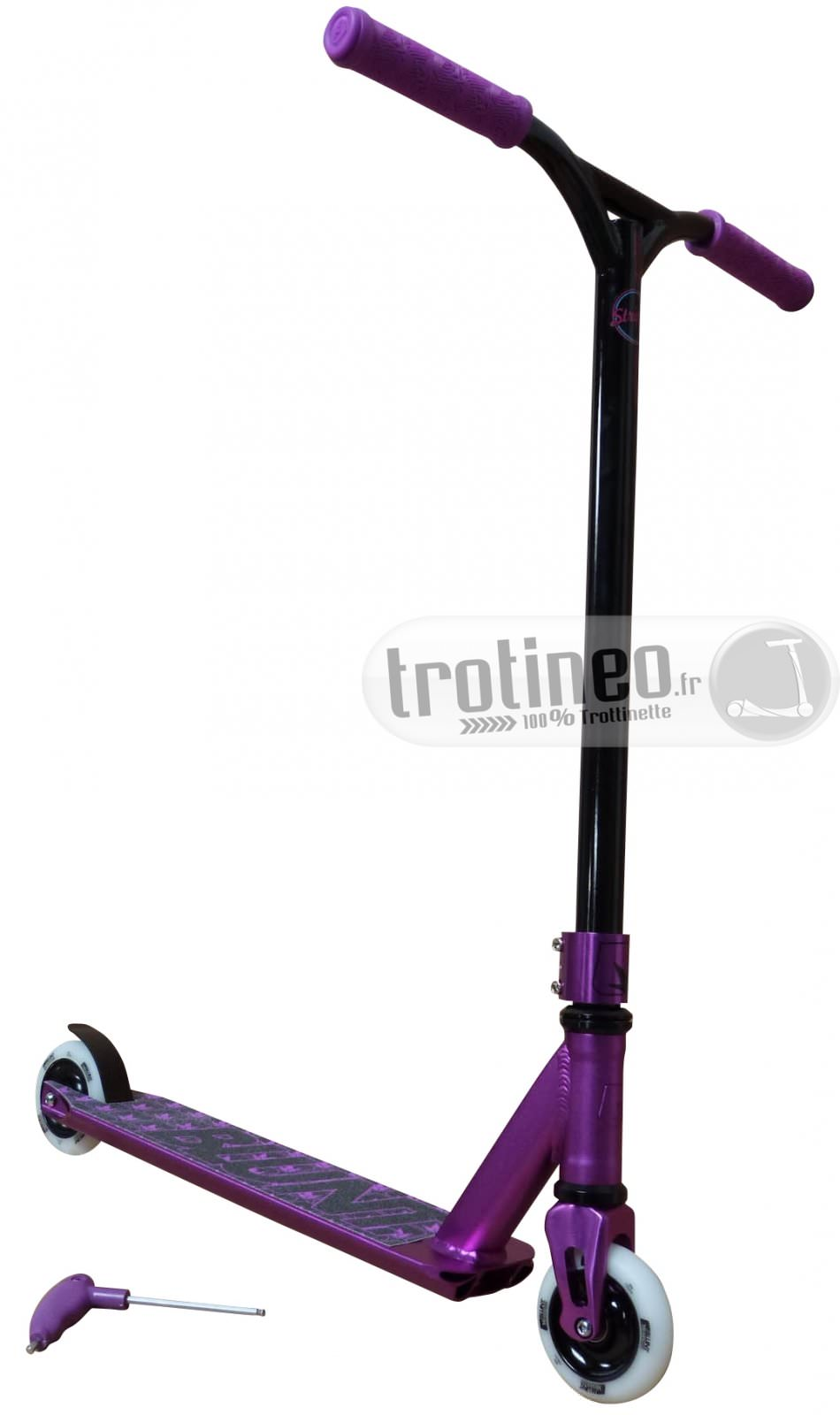 trotinette freestyle complete blunt violette trotineo. Black Bedroom Furniture Sets. Home Design Ideas