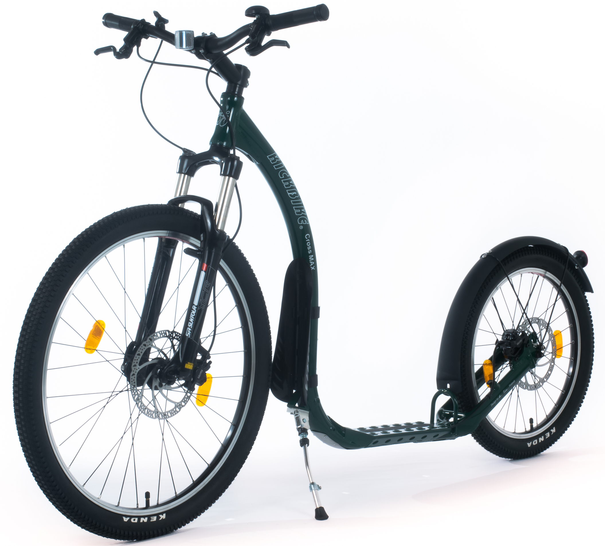 kickbike cross max disc hd hydraulique trottinette. Black Bedroom Furniture Sets. Home Design Ideas