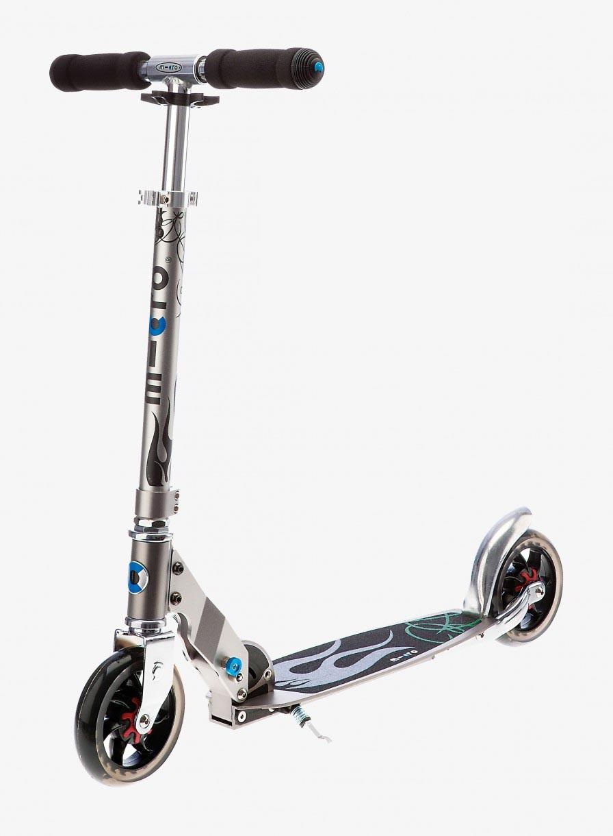 patinette micro Speed+ avec sangle lanière hauteur guidon 62 à 90cm
