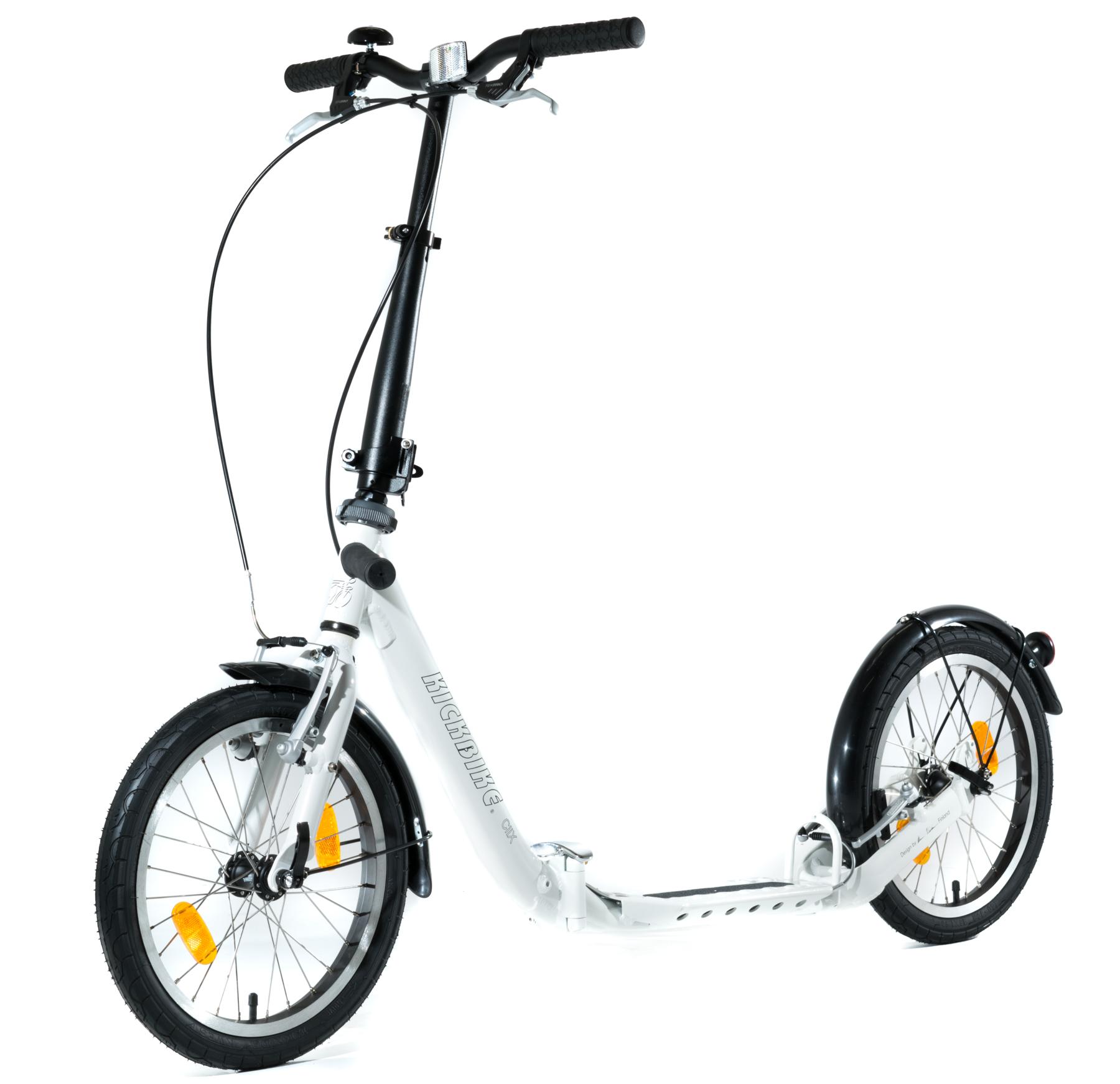 trottinette Kickbike CLiX 2 roues gonflables de 16 pouces dès 15 ans et Adultes footbike