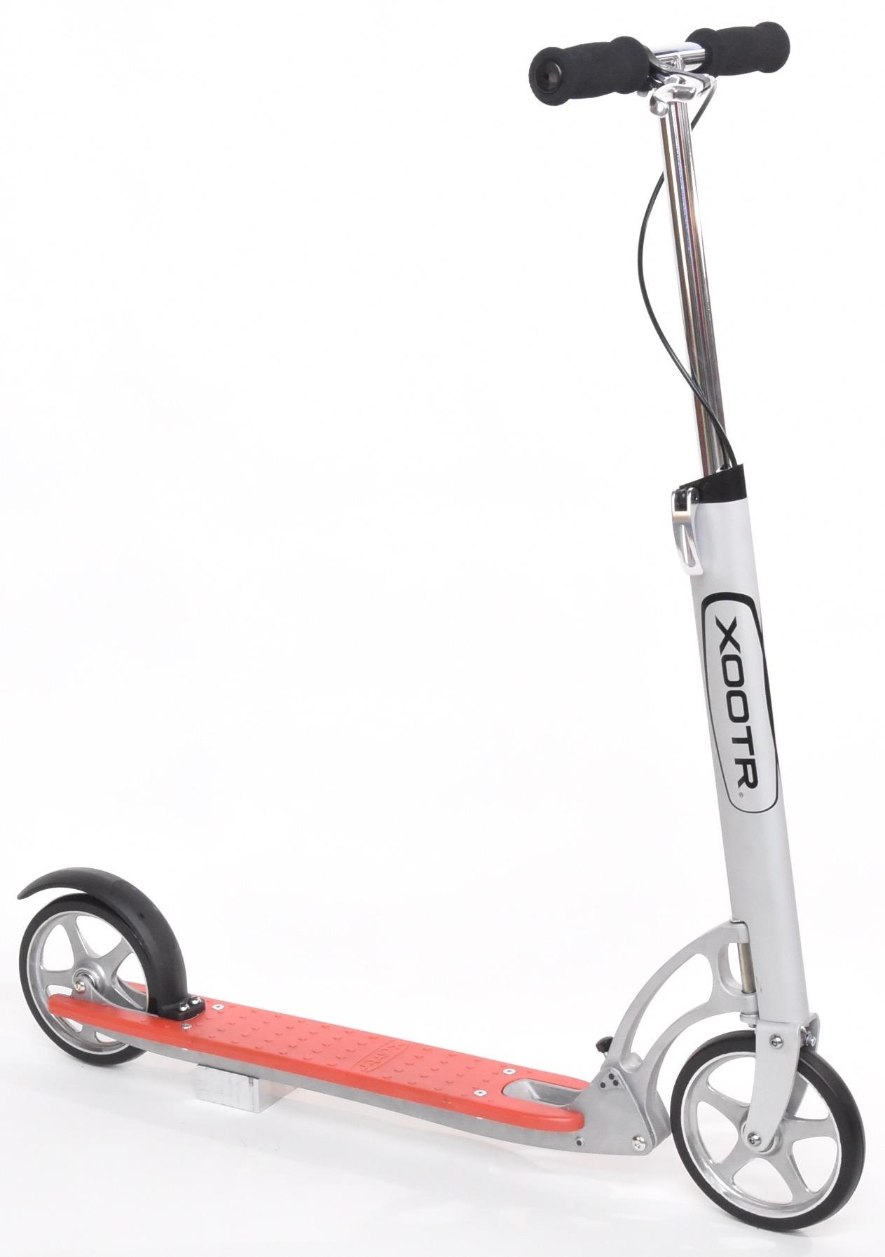 trottinette xootr Dash frein avant et arrière utilsateur 2 mètres pliage rapide 100kg