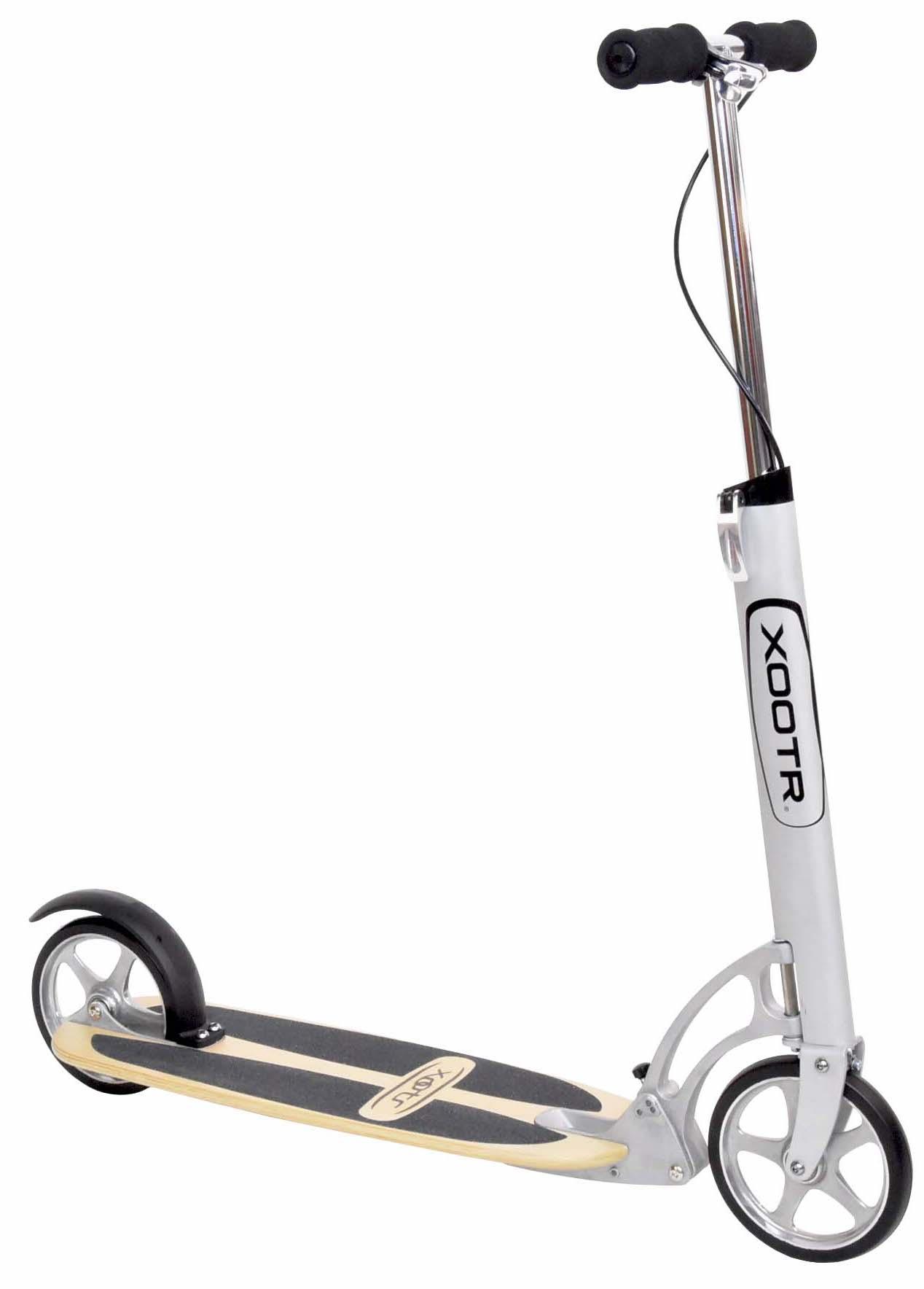 trottinette xootr Cruz Ultra rapide roues de 180mm pièce détachées plateau bois composite