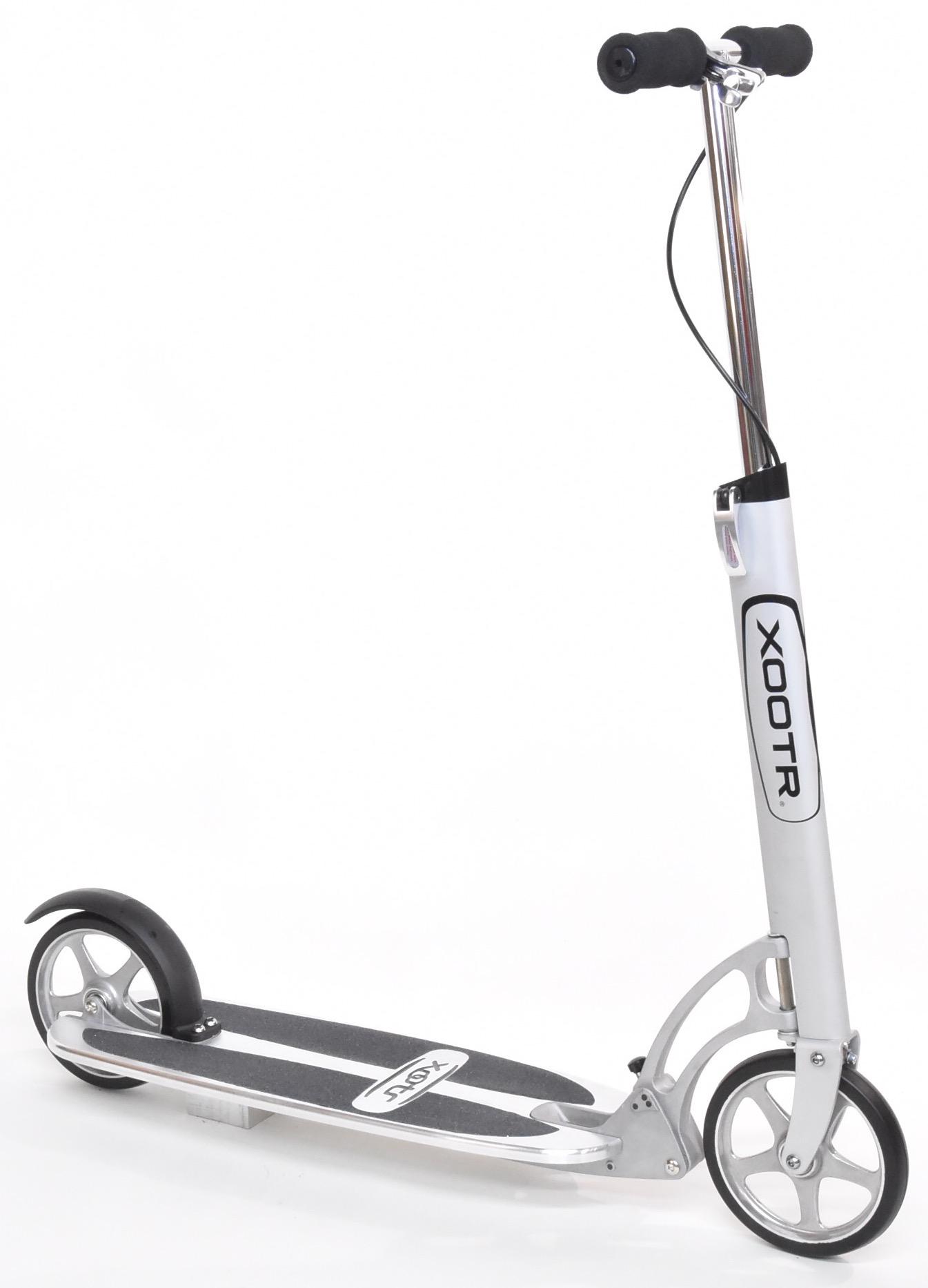 patinette xootr Street pliable adulte 2 mètre haut de gamme sangle et sac réglable plateau largeur 200mm