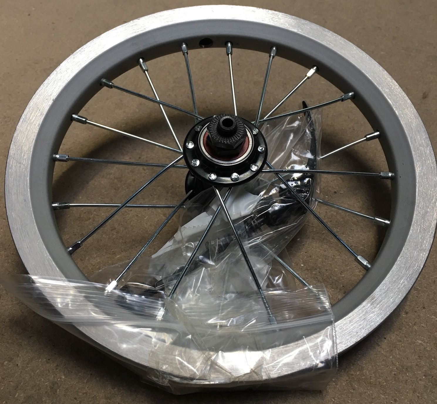 yedoo jante roue 12 pouces 75mm