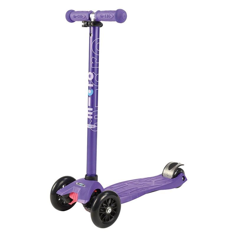 Trottinette Maxi Micro Violet Anodisé