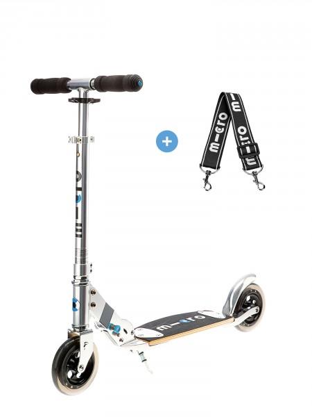 trottinette micro flex confort et stabilité roues de 145