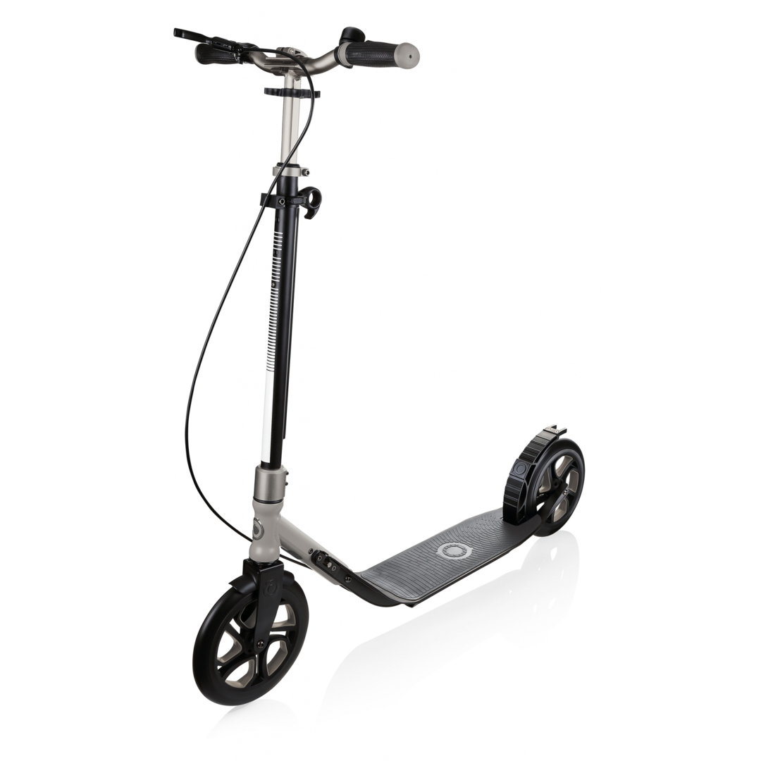 one-nl-230-ultimate-gris-metal-trottinette-grand-roue-pliable-pour-adulte-globber-2