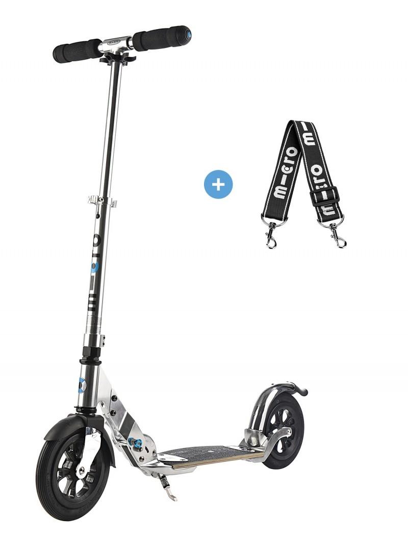 trottinette micro flex air grand confort roues de 200mm gonflables