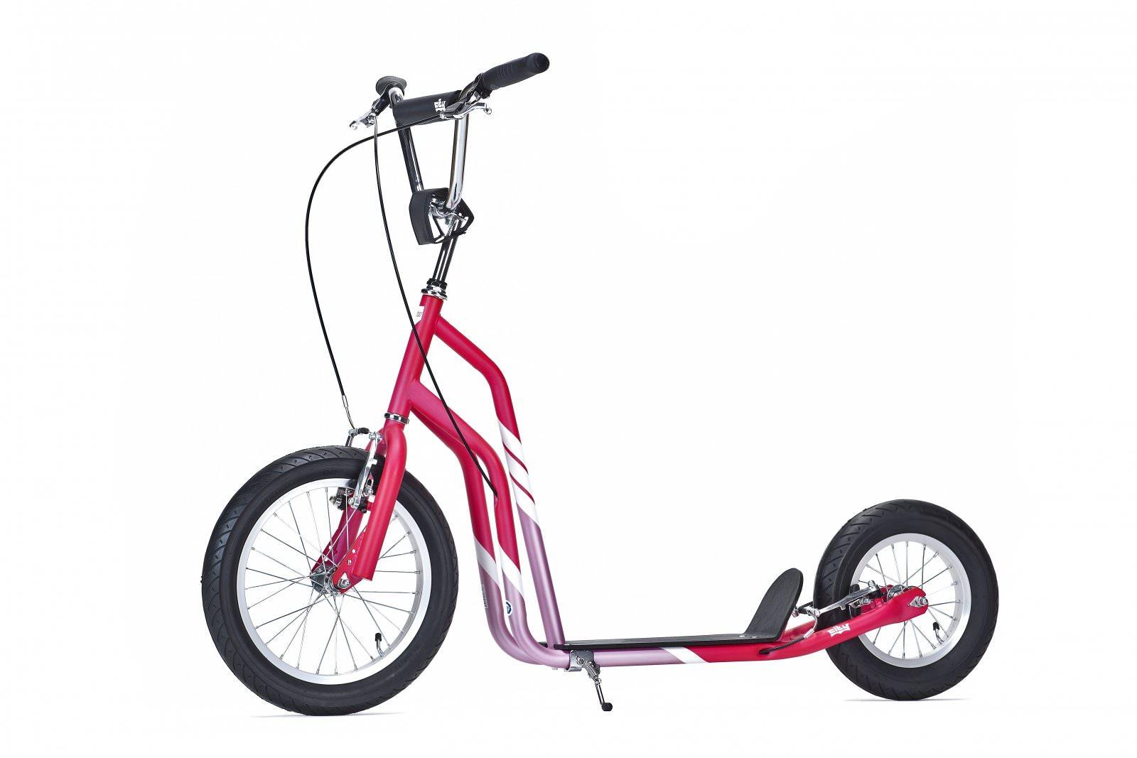 trottinette yedoo city line 16 12 magenta rose pneu. Black Bedroom Furniture Sets. Home Design Ideas