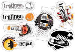 Planche Sticker trotineo