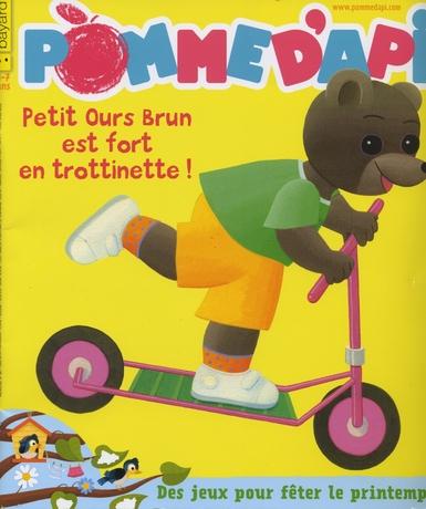 trotineo-petit ours brun