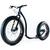 trottinette Kickbike FatMax Cadre aluminium léger 12,5kg Pneu basse pression fat 4 pouces 10 cm