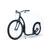 trottinette Kickbike Cruise Noire guidon californien, pneu super ballon schwalbe beach cruiser footbike