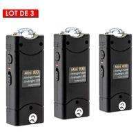 Pack de 3 shockers électriques puissant