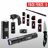Pack de défense complet 10 armes légales