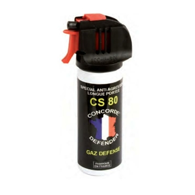 Spray lacrymogène gaz cs 50 ml